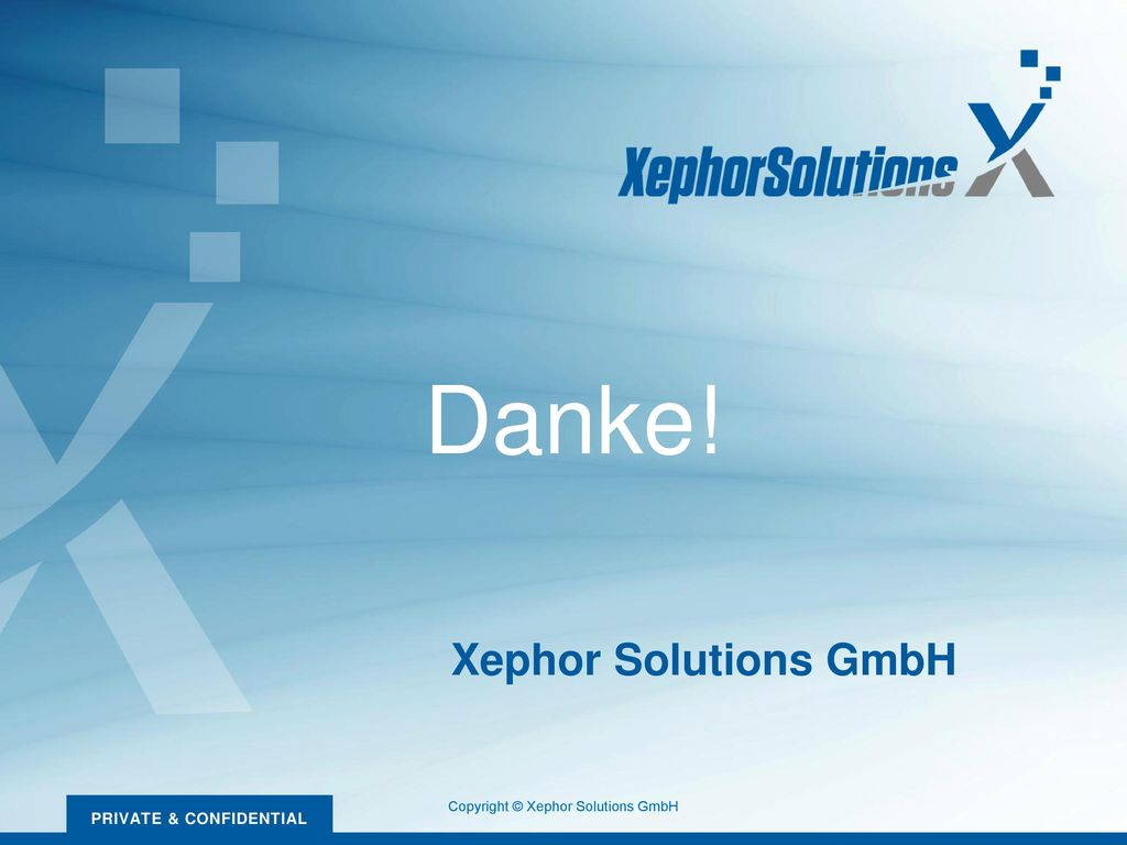 Copyright © Xephor Solutions GmbH
