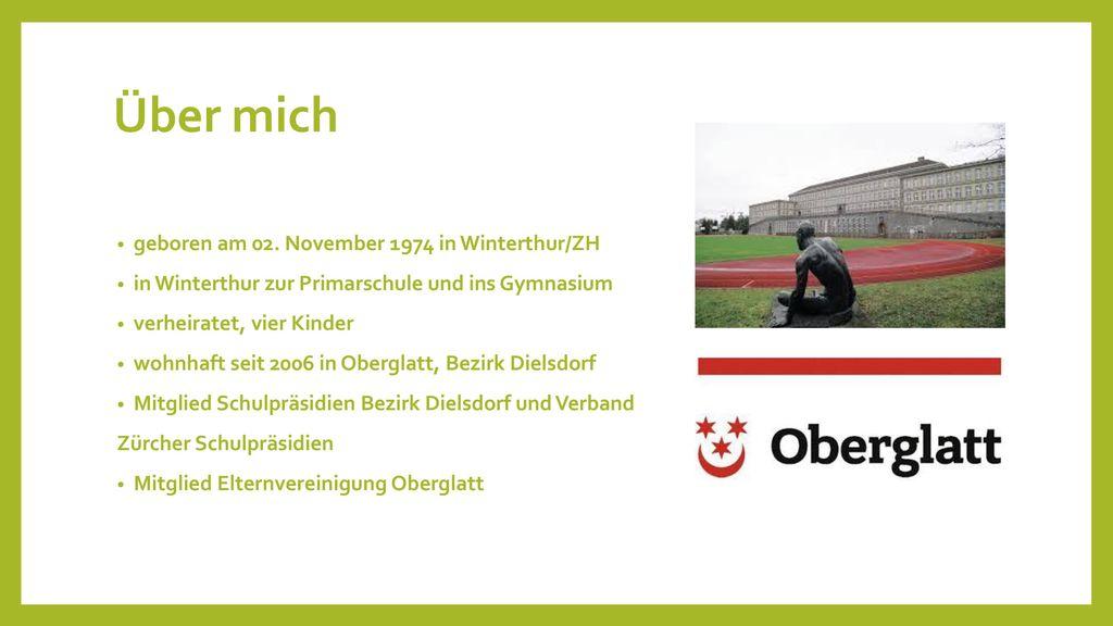 Über mich geboren am 02. November 1974 in Winterthur/ZH