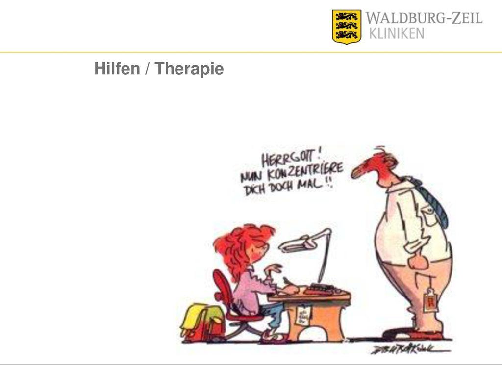 Hilfen / Therapie