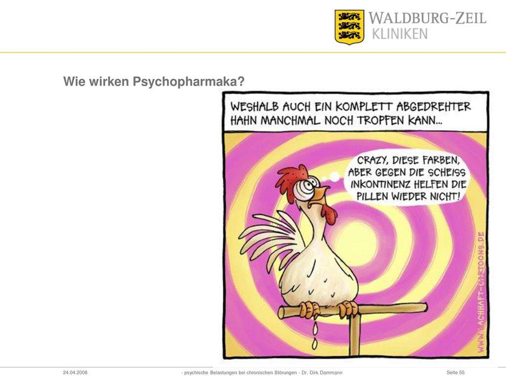 Wie wirken Psychopharmaka