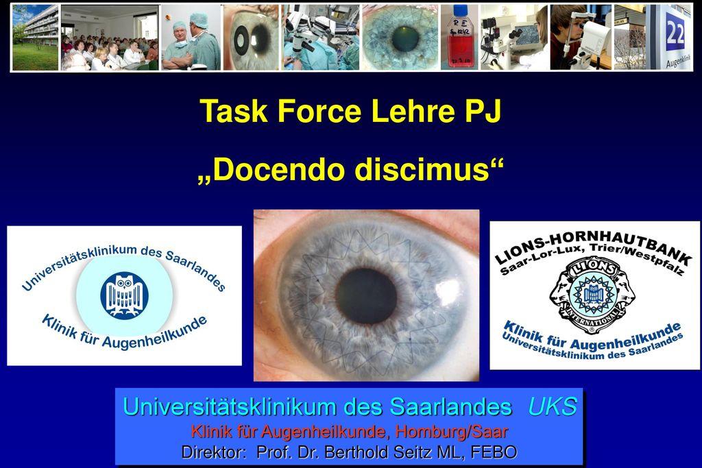 "Task Force Lehre PJ ""Docendo discimus"