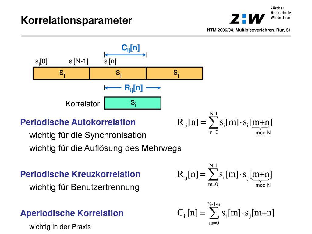 Korrelationsparameter