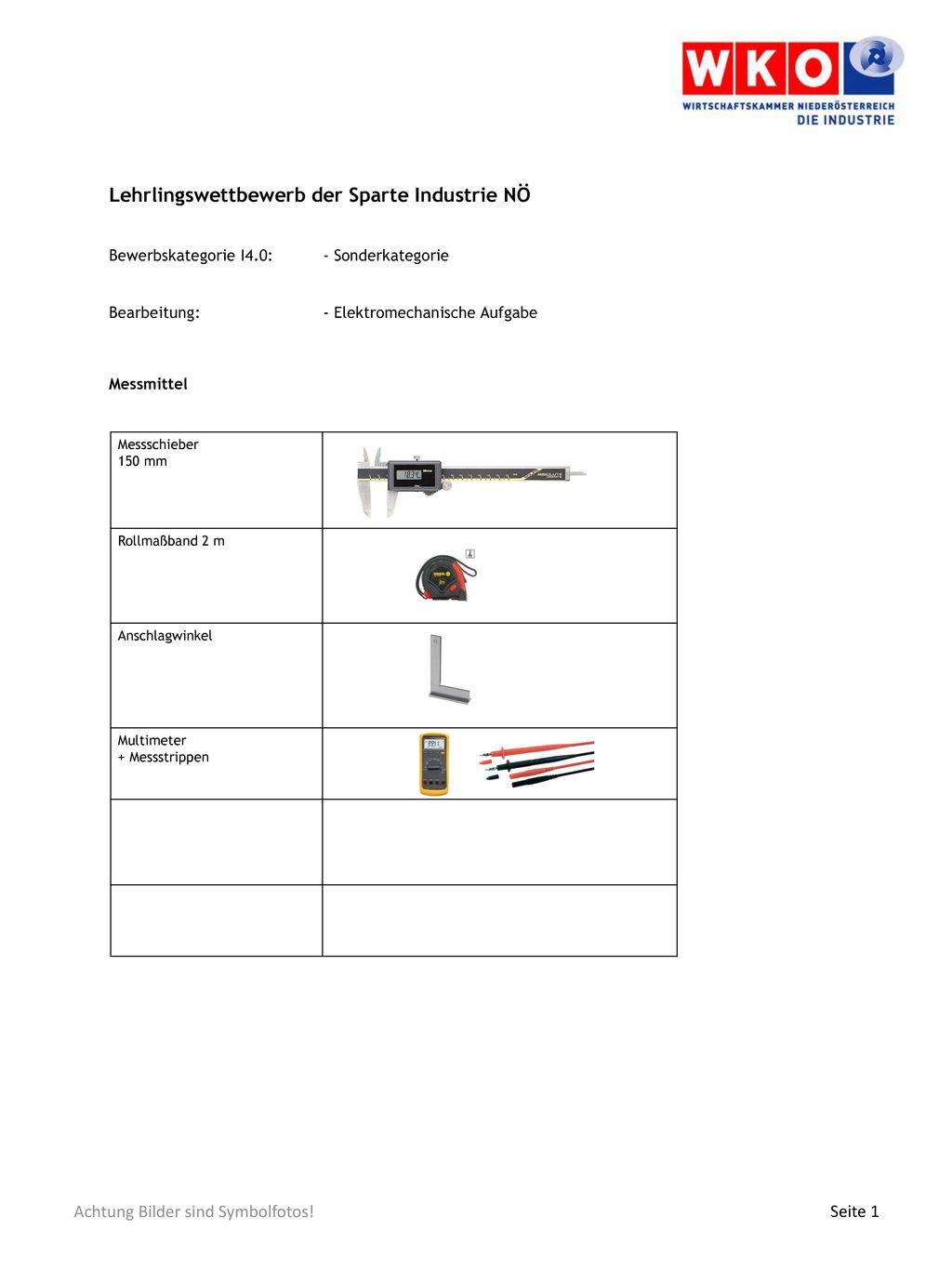 Lehrlingswettbewerb der Sparte Industrie NÖ