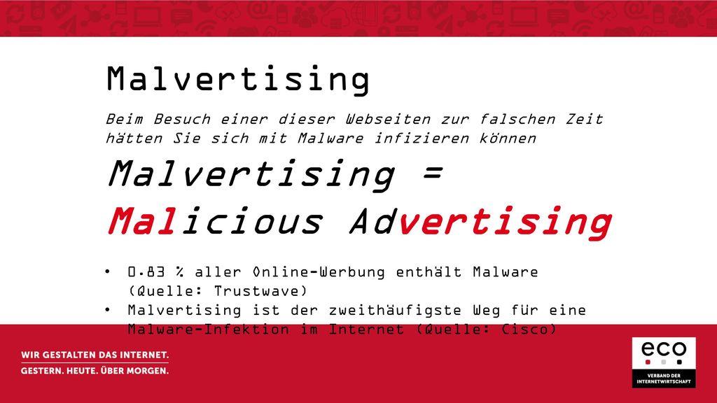 Malicious Advertising