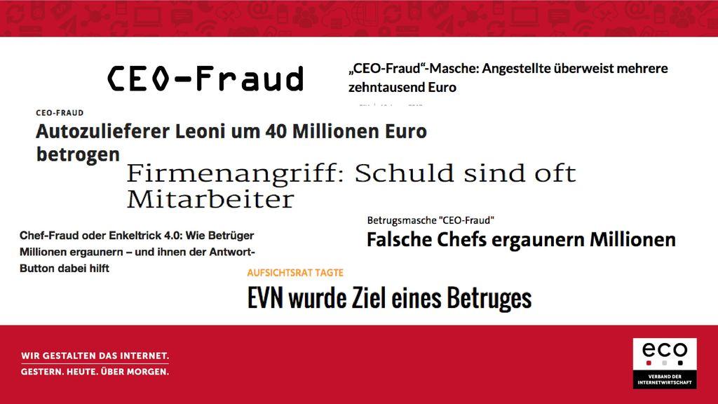 CEO-Fraud