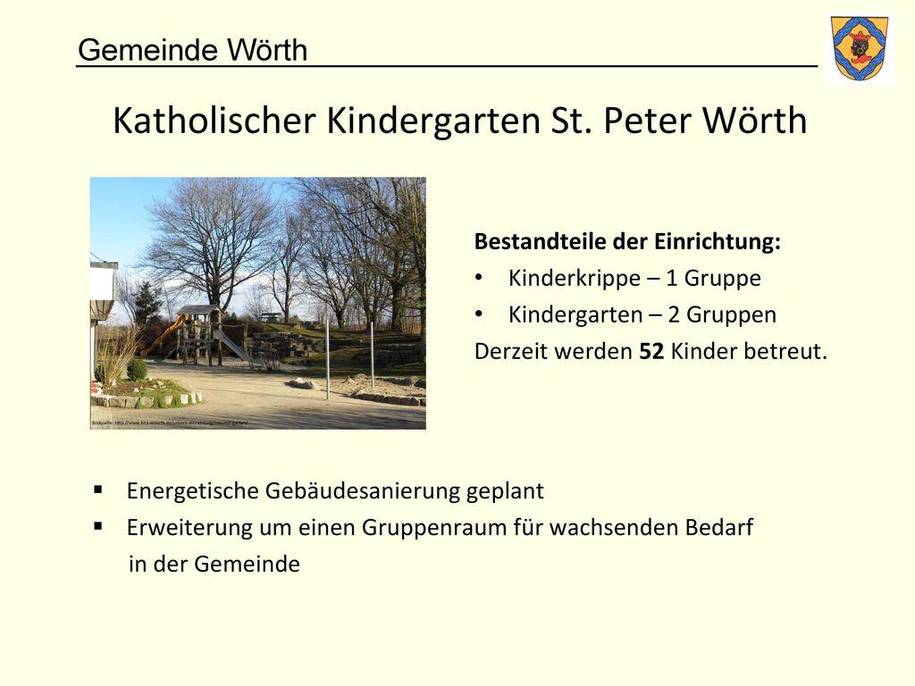 Katholischer Kindergarten St. Peter Wörth