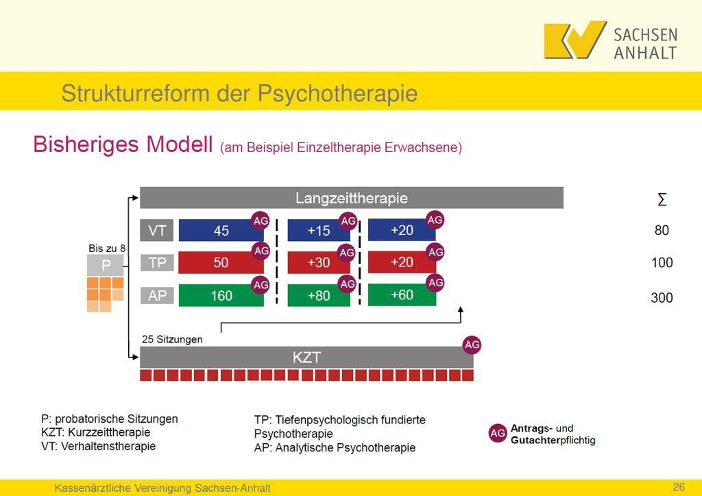 Strukturreform der Psychotherapie
