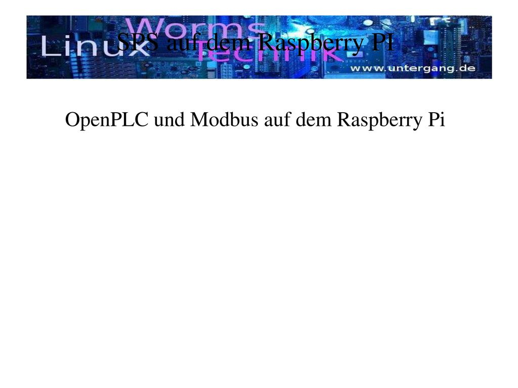 SPS auf dem Raspberry PI