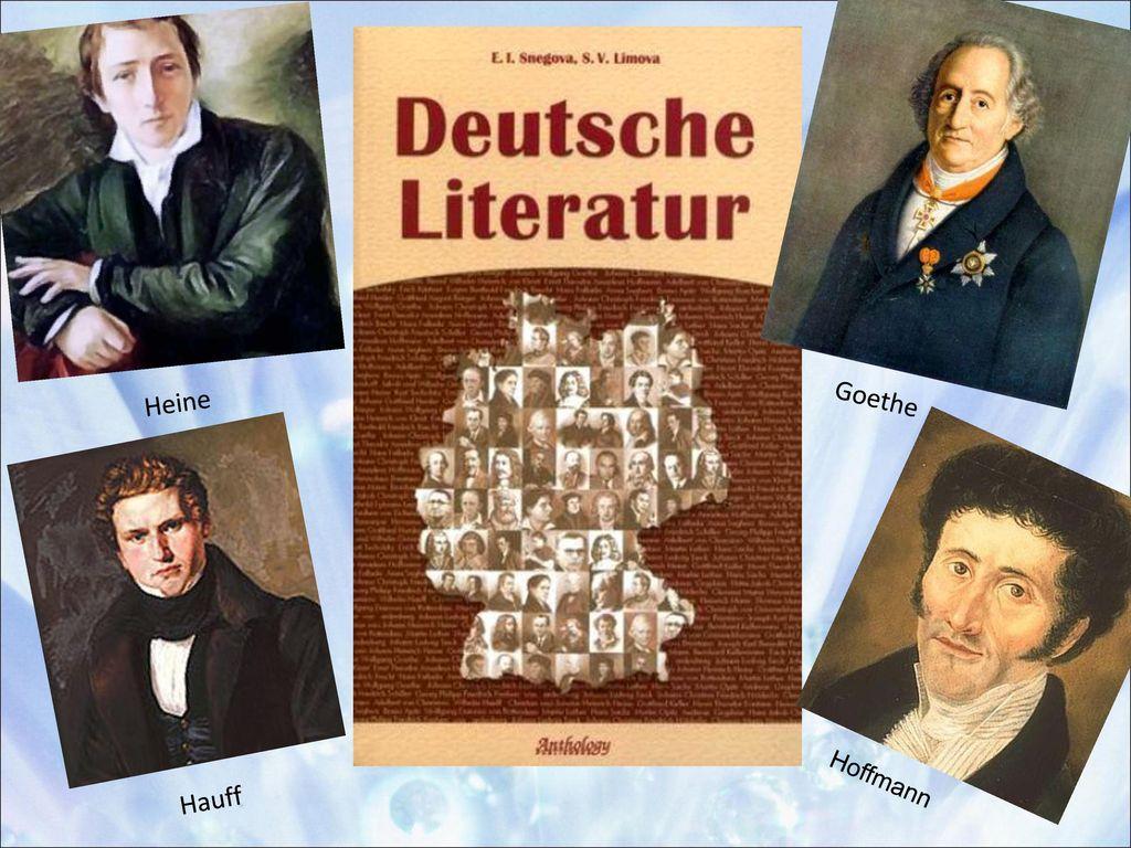 Heine Goethe Hoffmann Hauff