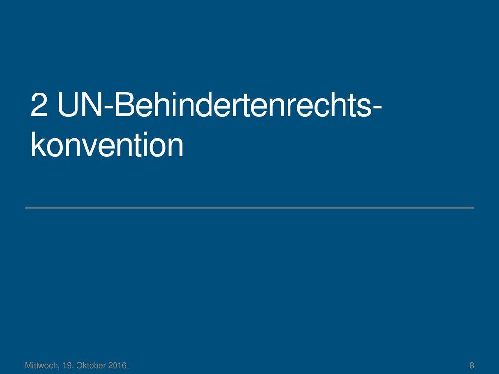 2 UN-Behindertenrechts-konvention