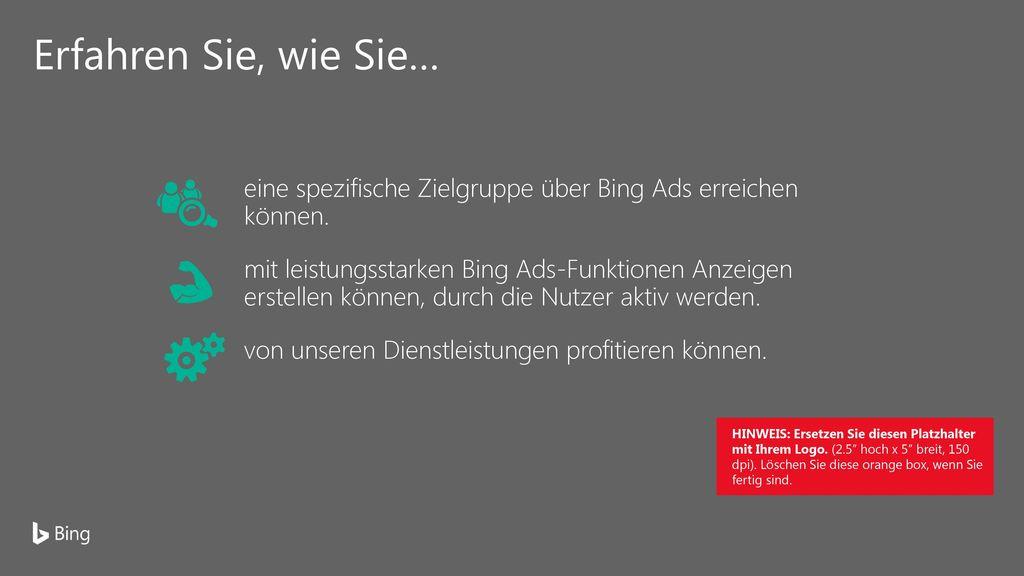 Wachstumsmotor für Ihr Unternehmen: Bing Ads