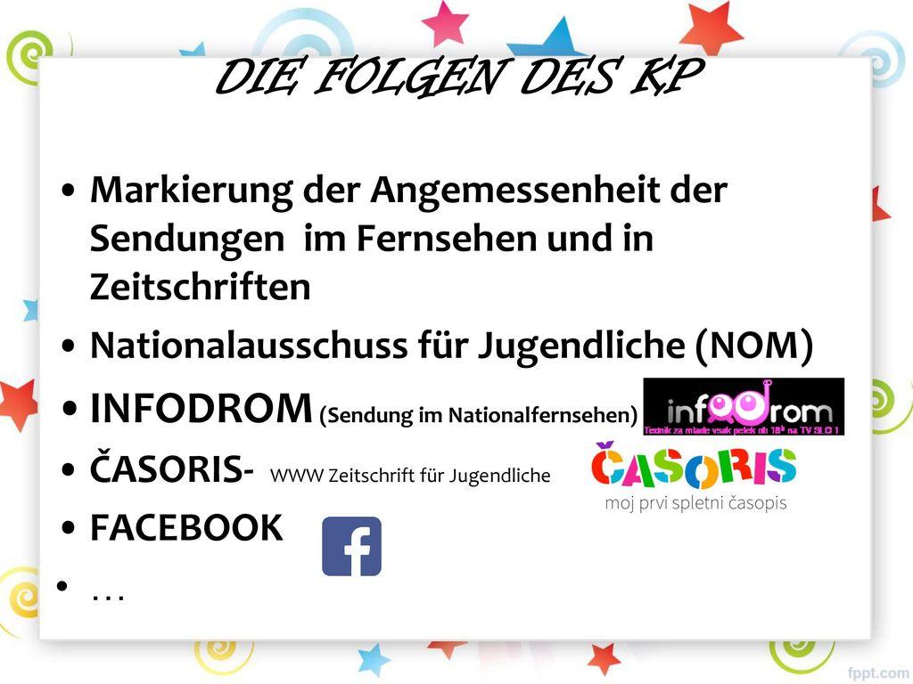DIE FOLGEN DES KP INFODROM (Sendung im Nationalfernsehen)
