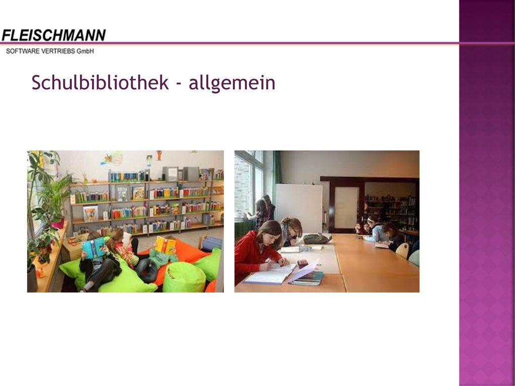 Schulbibliothek - allgemein