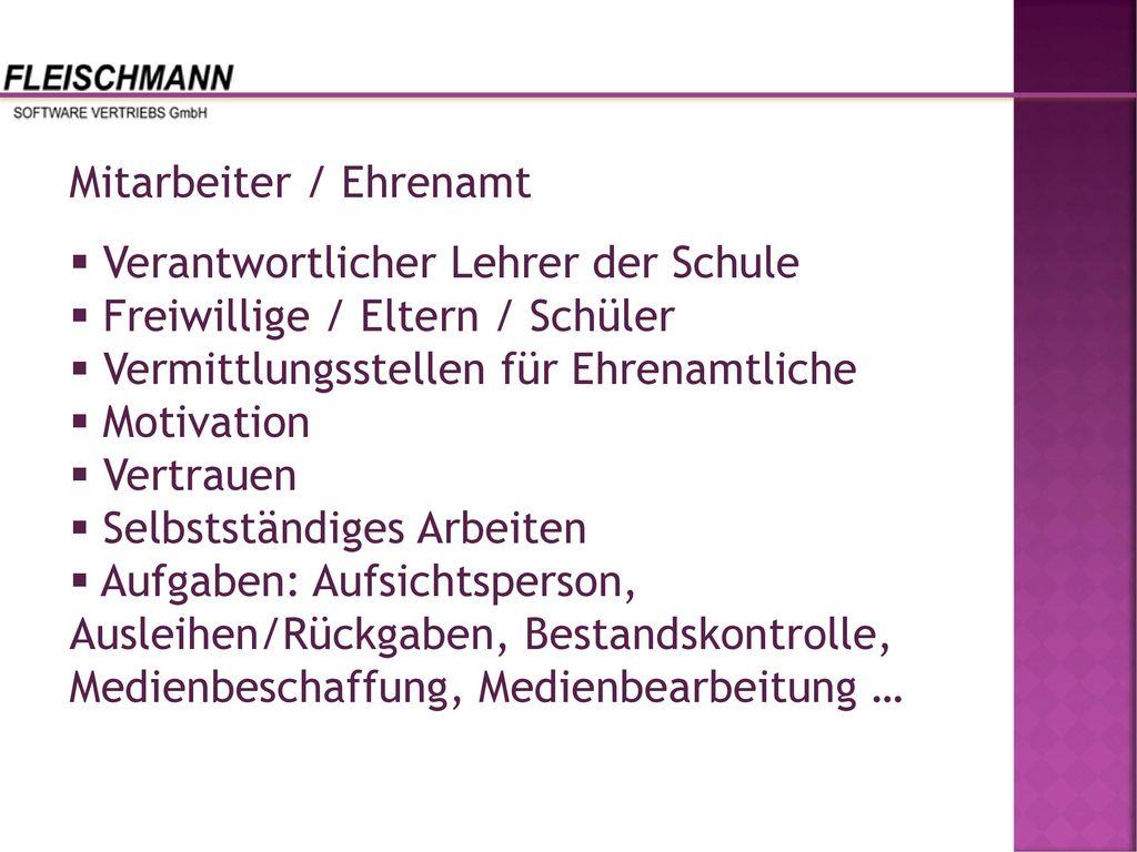 Mitarbeiter / Ehrenamt