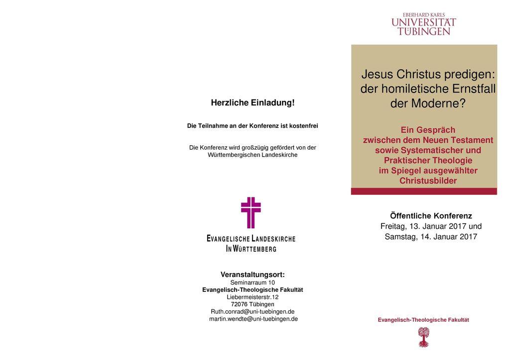Herzliche Einladung! Die Teilnahme an der Konferenz ist kostenfrei. Die Konferenz wird großzügig gefördert von der.