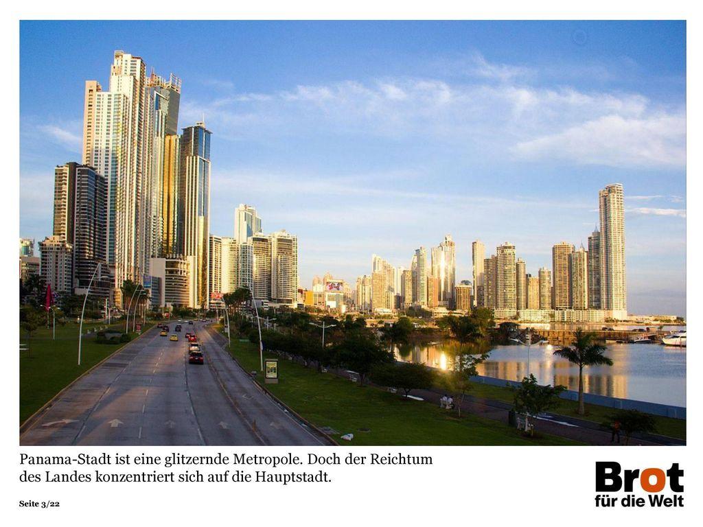 Panama-Stadt ist eine glitzernde Metropole