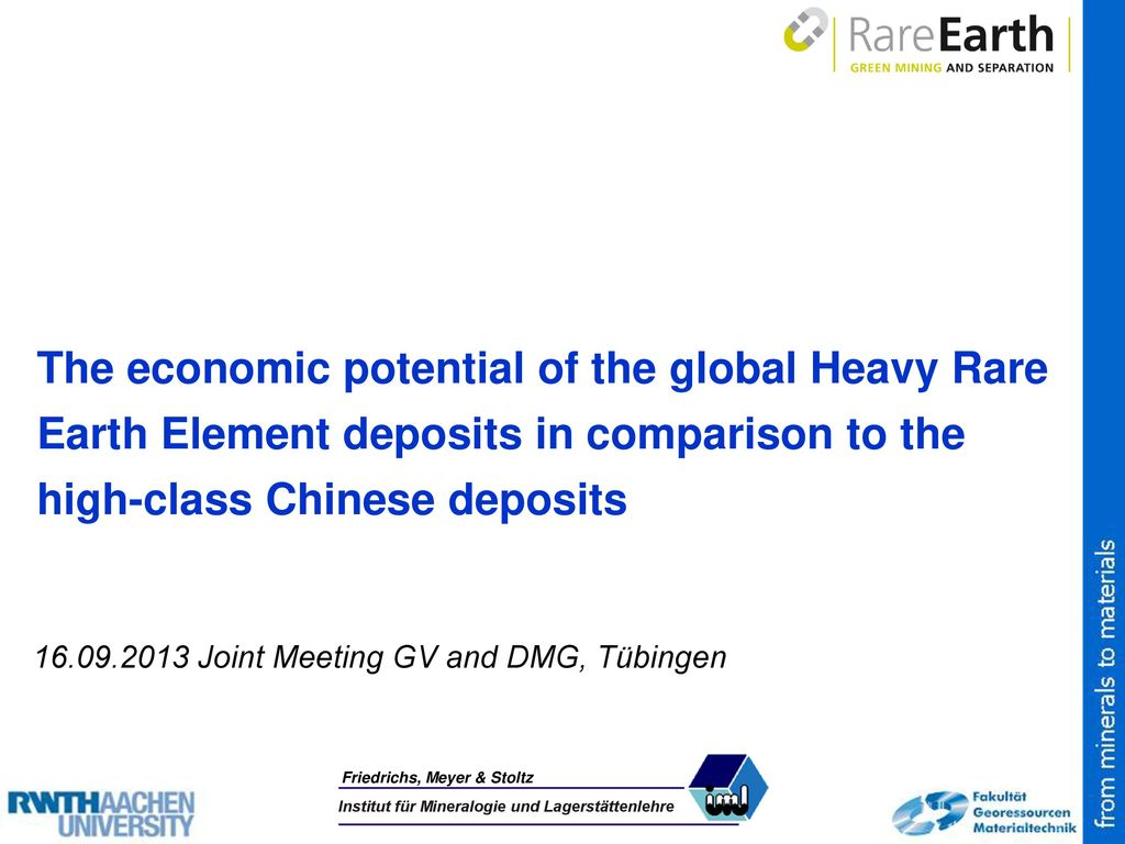 The economic potential of the global Heavy Rare Earth Element deposits in comparison to the high-class Chinese deposits