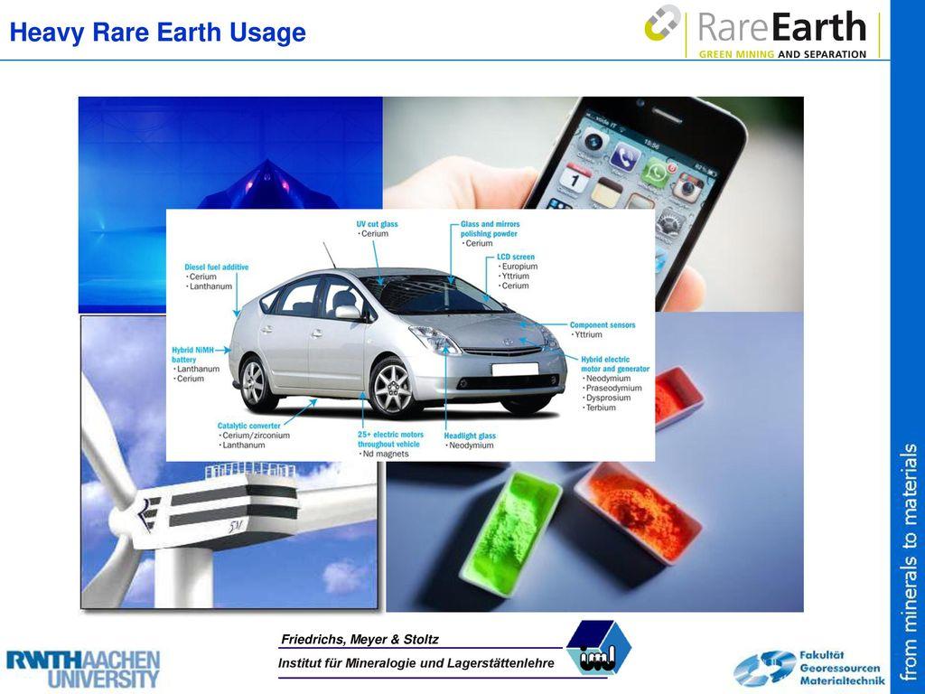 Heavy Rare Earth Usage Friedrichs, Meyer & Stoltz