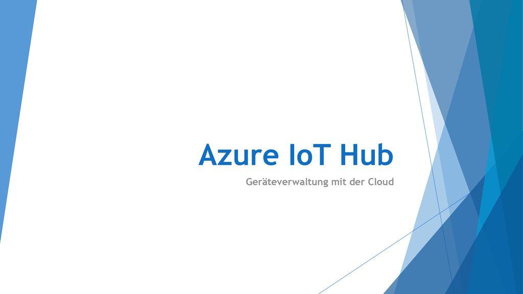 Geräteverwaltung mit der Cloud