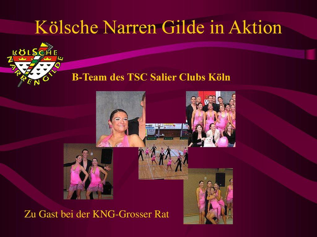 B-Team des TSC Salier Clubs Köln