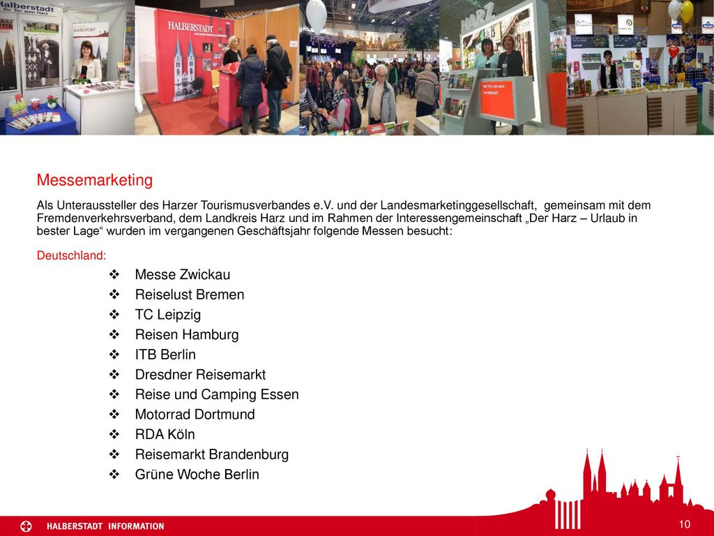 Messemarketing Messe Zwickau Reiselust Bremen TC Leipzig
