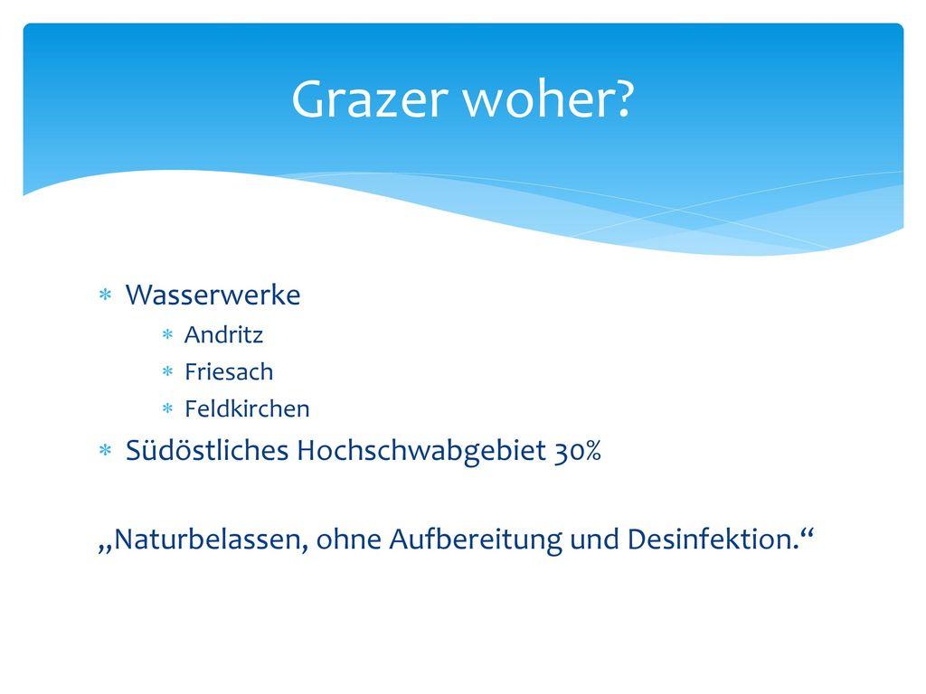 Grazer woher Wasserwerke Südöstliches Hochschwabgebiet 30%