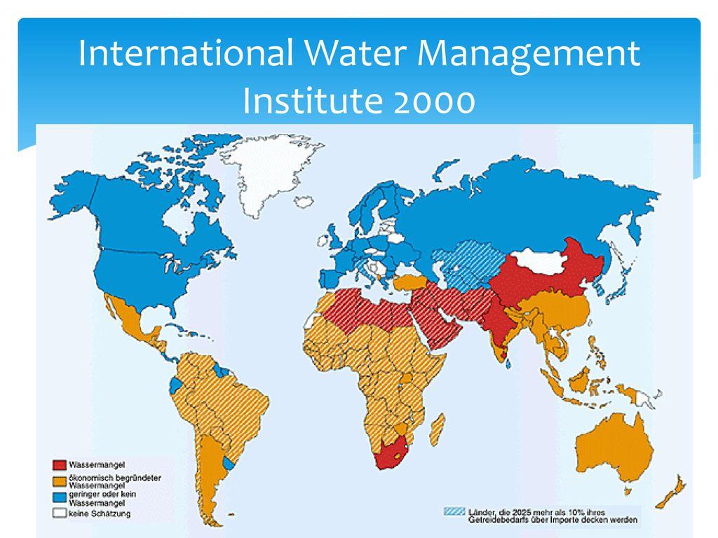 International Water Management Institute 2000