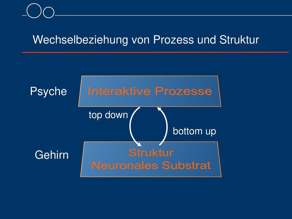Wechselbeziehung von Prozess und Struktur