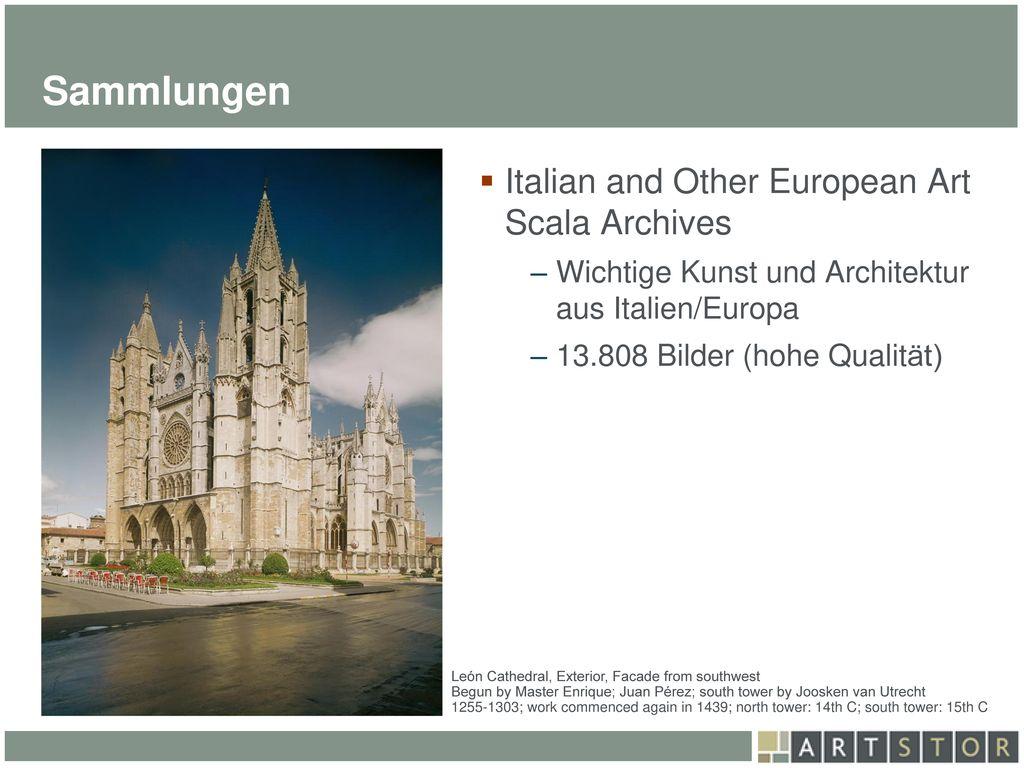 Sammlungen Italian and Other European Art Scala Archives