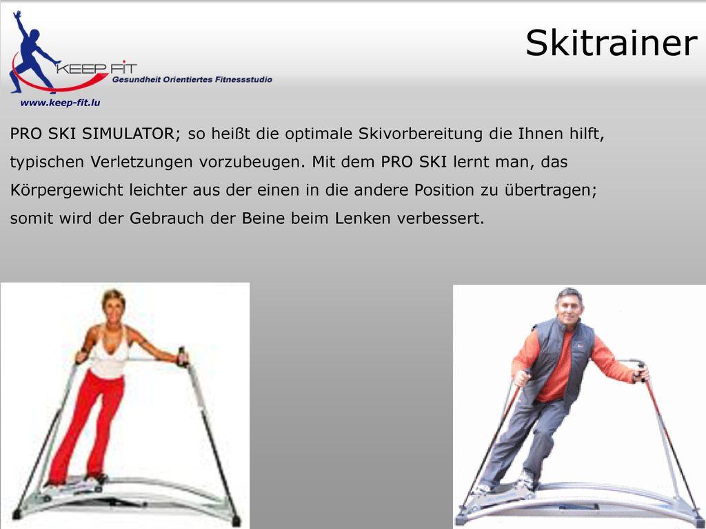 Skitrainer www.keep-fit.lu.