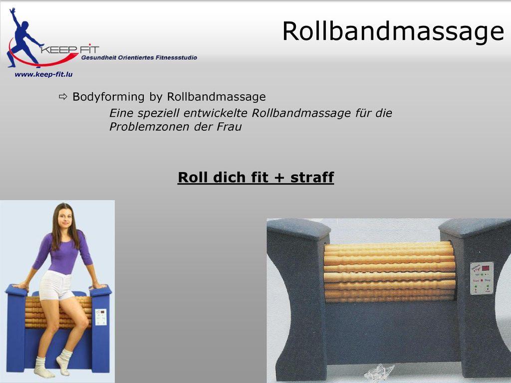 Rollbandmassage Roll dich fit + straff