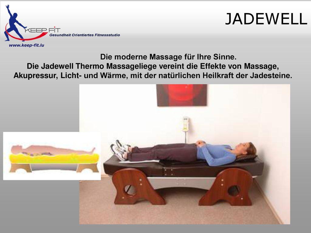 Die moderne Massage für Ihre Sinne.