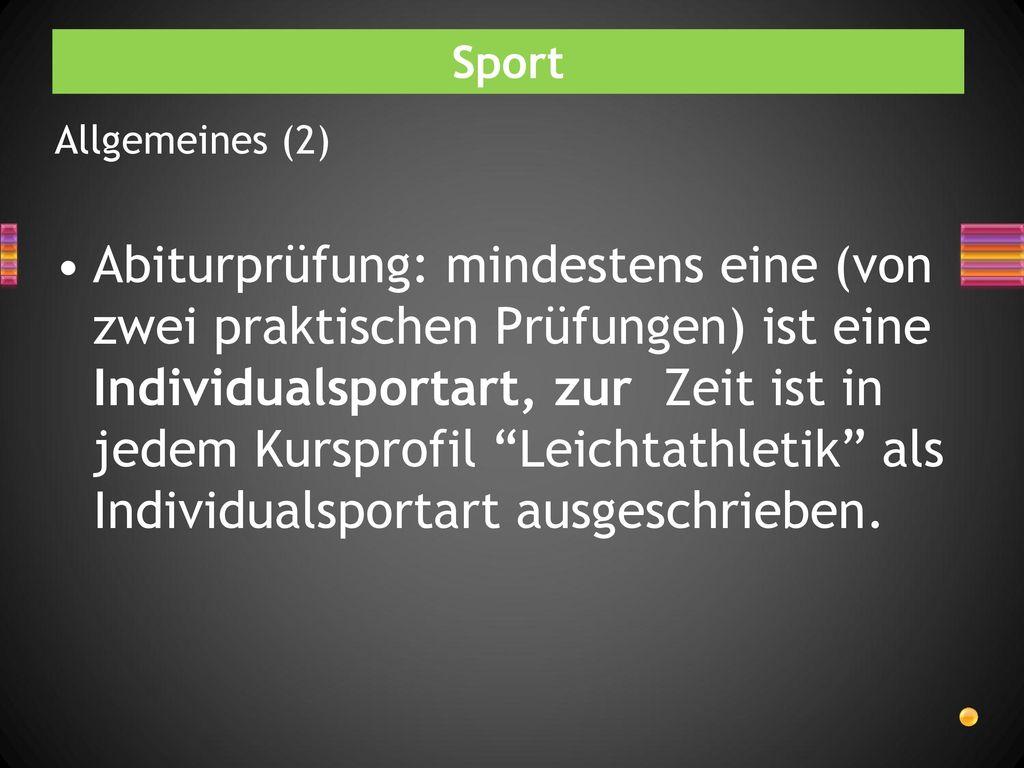 Sport Allgemeines (2)