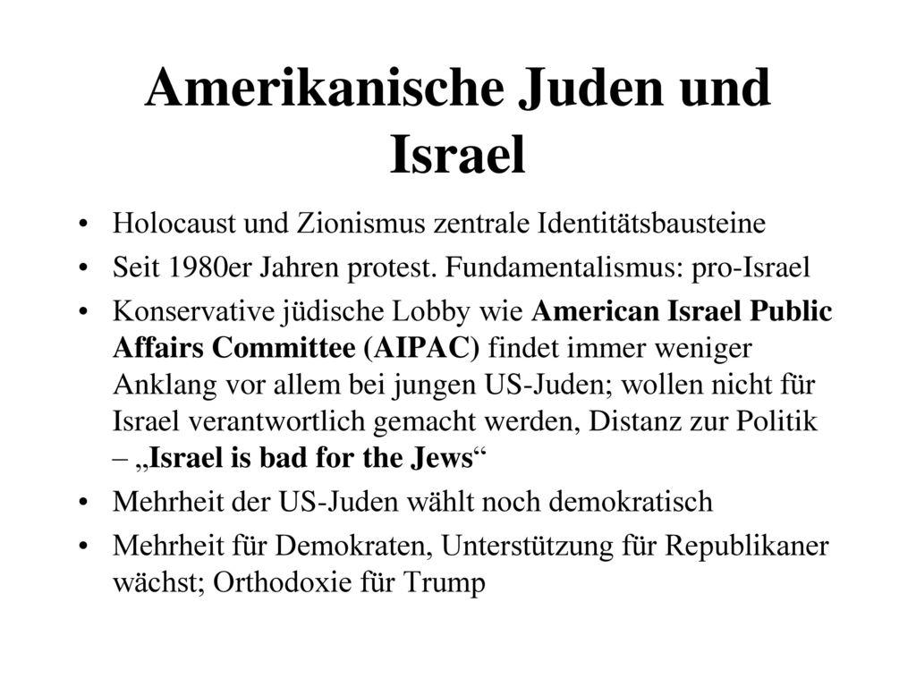 Amerikanische Juden und Israel