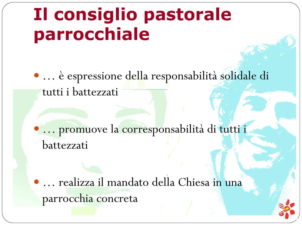 Il consiglio pastorale parrocchiale