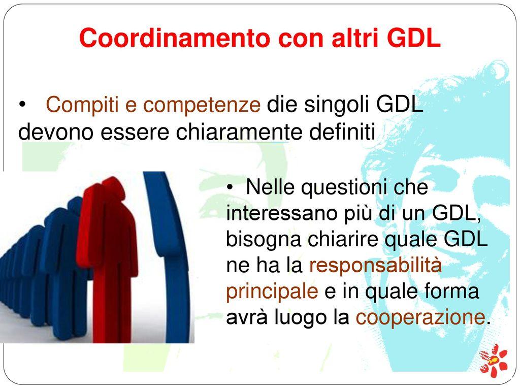 Coordinamento con altri GDL