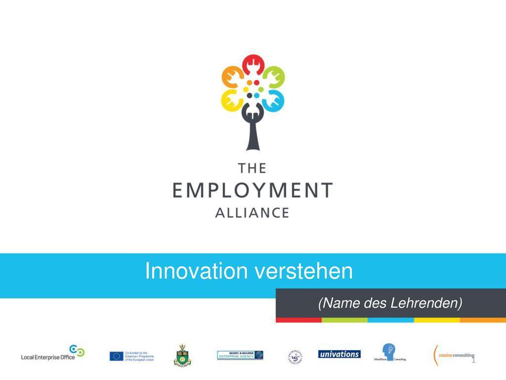 Innovation verstehen (Name des Lehrenden)
