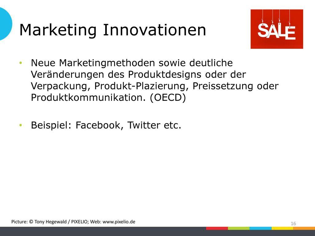 Marketing Innovationen
