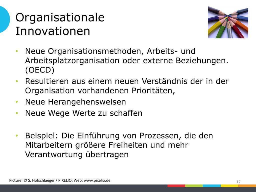 Organisationale Innovationen