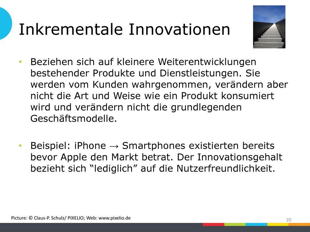 Inkrementale Innovationen