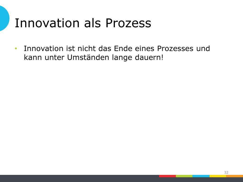 Innovation als Prozess