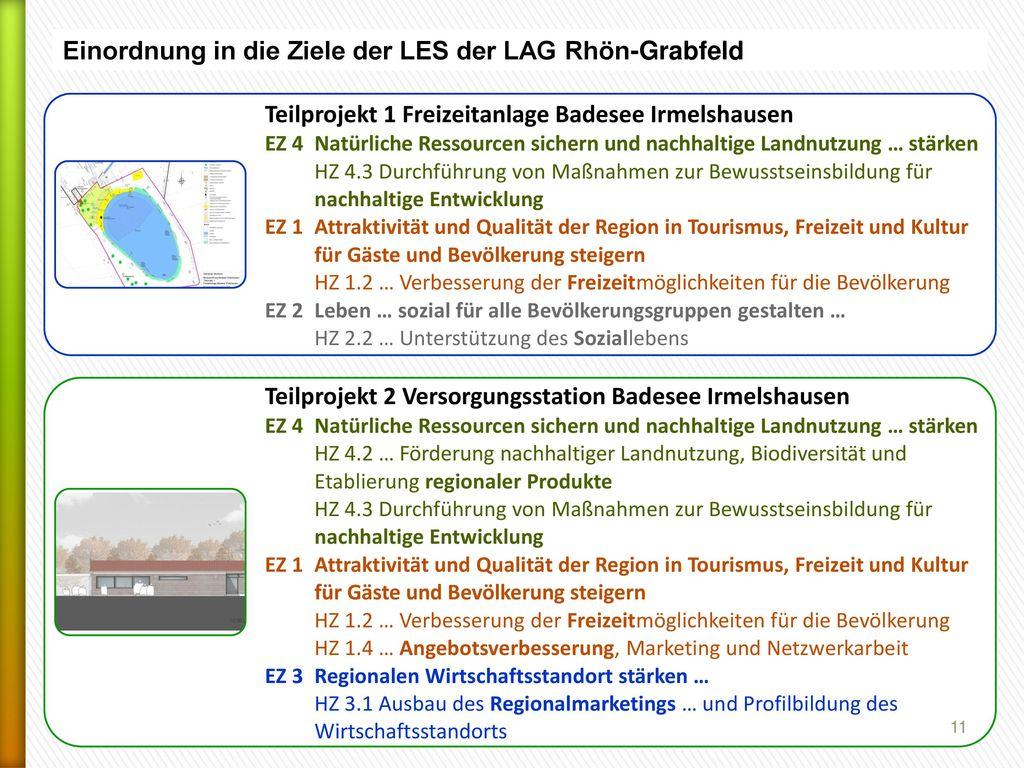 Einordnung in die Ziele der LES der LAG Rhön-Grabfeld