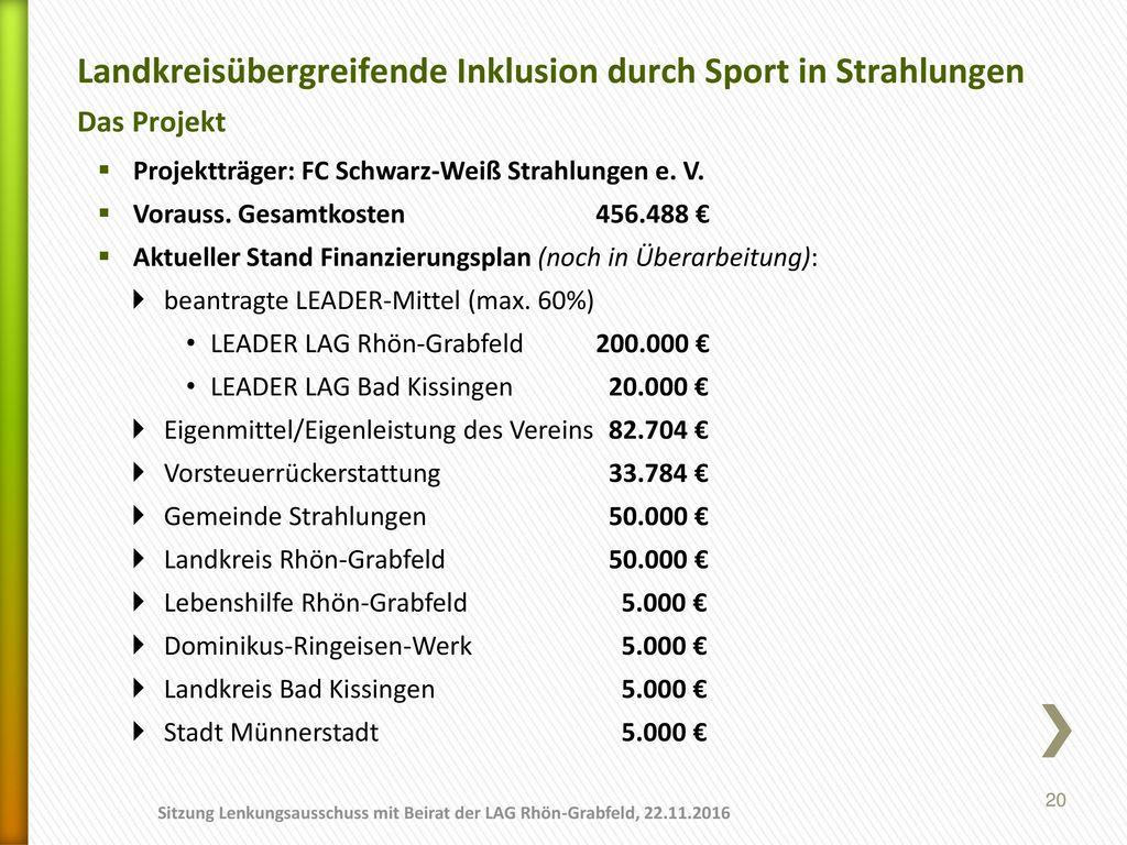 Landkreisübergreifende Inklusion durch Sport in Strahlungen