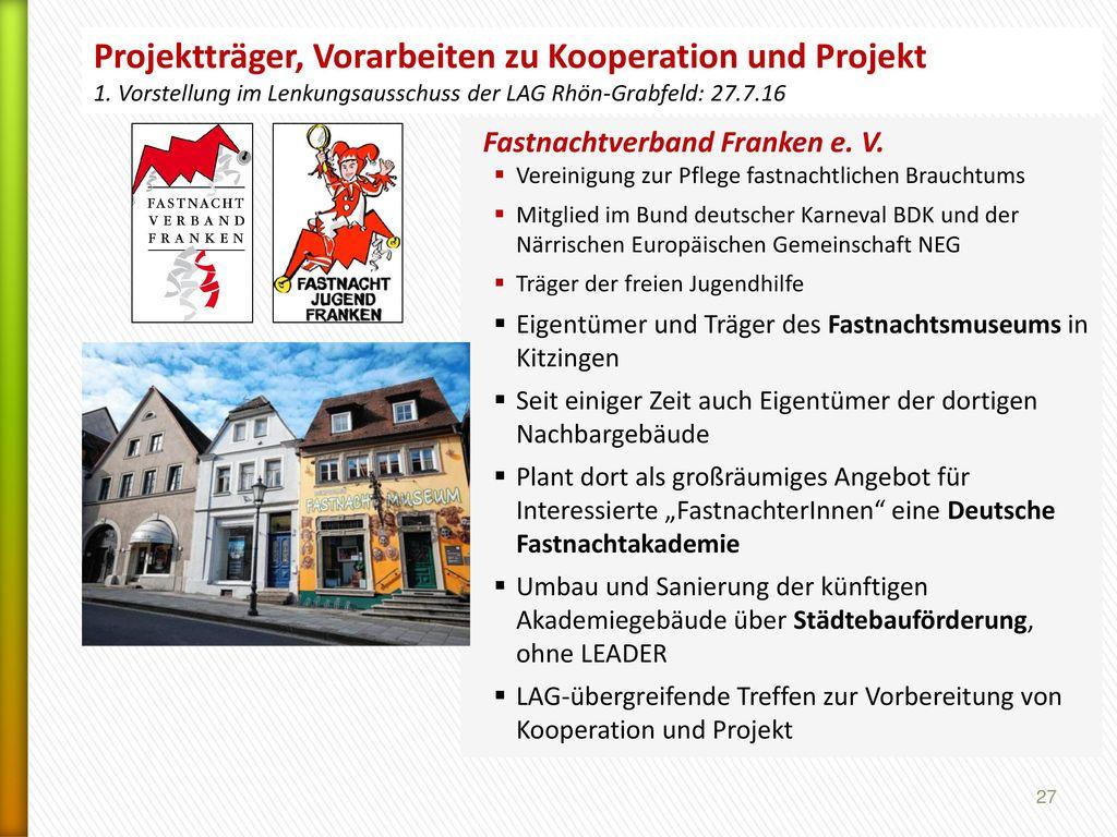Projektträger, Vorarbeiten zu Kooperation und Projekt