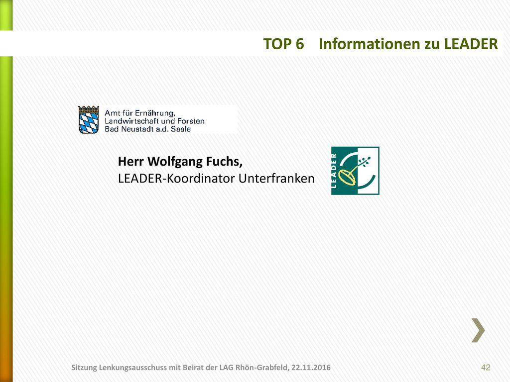 TOP 6 Informationen zu LEADER