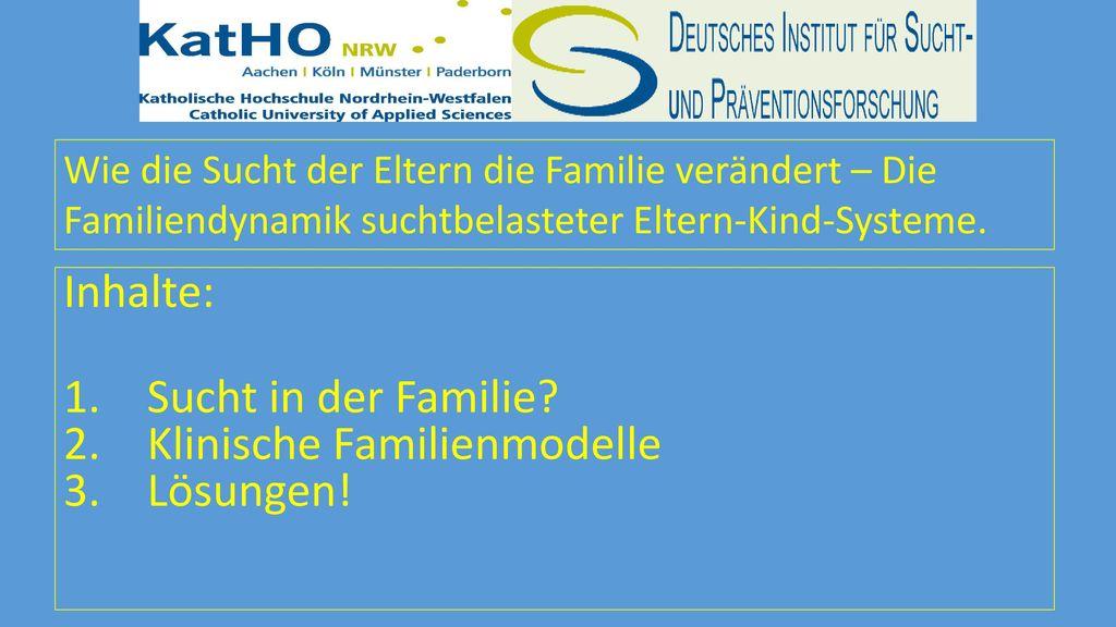 Klinische Familienmodelle Lösungen!