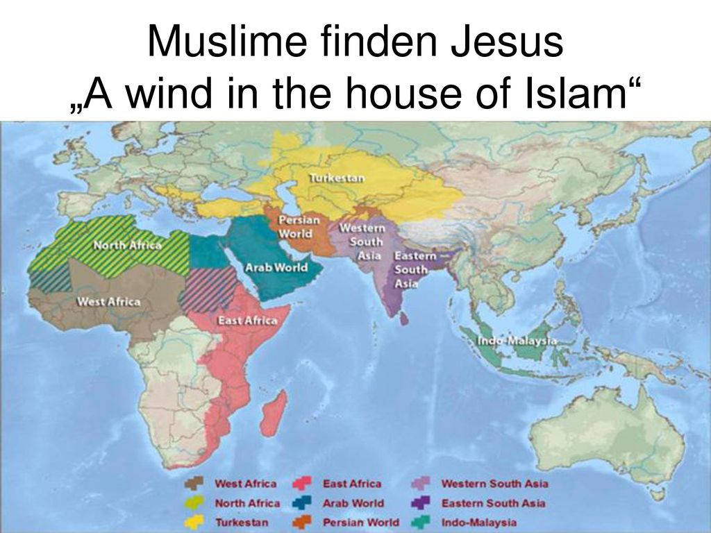 """Muslime finden Jesus """"A wind in the house of Islam"""
