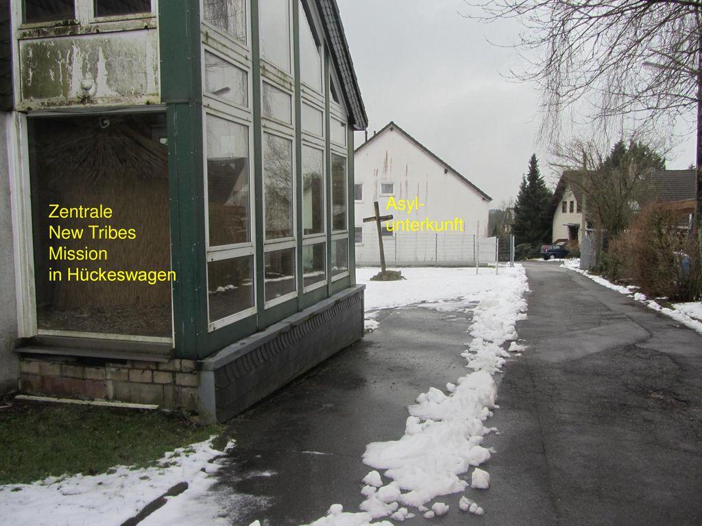 Asyl- unterkunft Zentrale New Tribes Mission in Hückeswagen