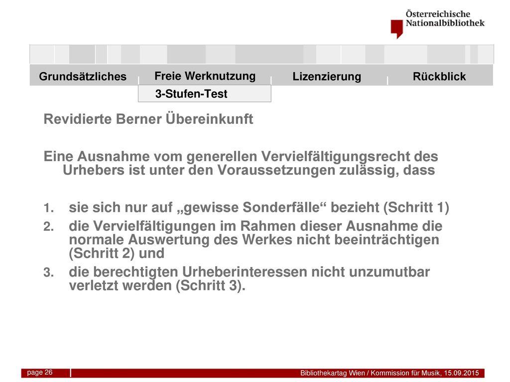 Revidierte Berner Übereinkunft