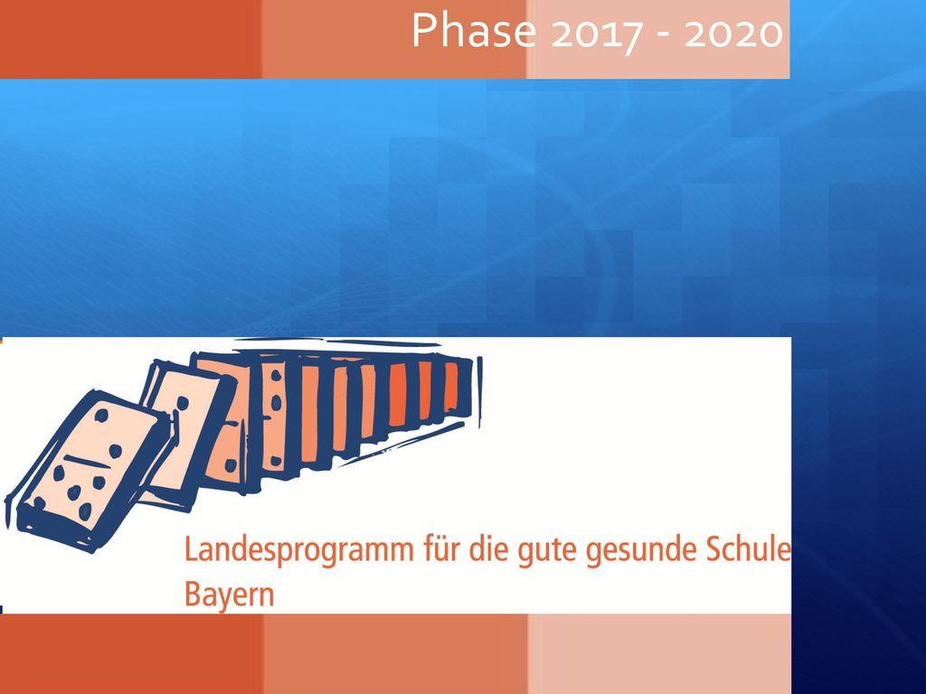Phase 2017 - 2020 Das Landesprogramm startet im Schuljahr 2014/15 für die Dauer von 3 Jahren. Voraussetzung ist.